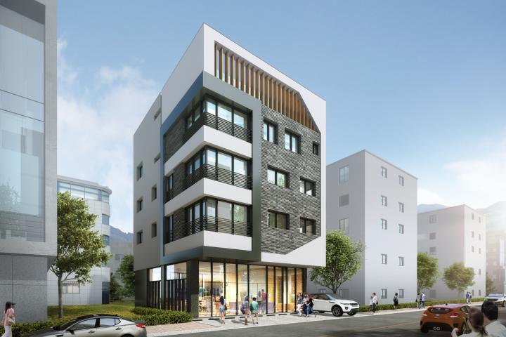 신도시 상가주택 설계