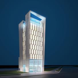 하늘과 맞닿은 푸르른 호텔