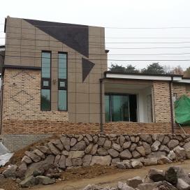 대현리 단독주택 신축공사