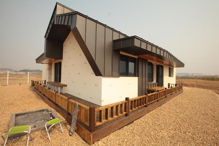 중정을 품은 특별한 집, 김포 두마당 집