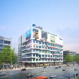 천안 불당동 메가월드 복합문화시설, 상업시설, 신축, 설계