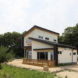 용인-1 M-House 단독주택, 전원주택, 신축, 모던함