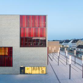 독일 뮬하임 대학 도서관 프로젝트 대학도서관, 도서관, 모던함, 심플, 미니멀