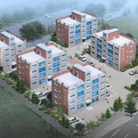 여주 신해리빌라(다세대주택 신축공사) 다세대주택, 빌라, 조적조, 35평형, 25평형