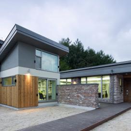 원당리주택 7호(단독주택) 단독주택, 치장벽돌, 적삼목, 징크지붕, 경사지붕,