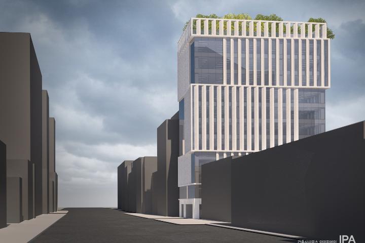 성남시 수진동 오피스빌딩 (기획설계)