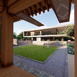 전통한옥과 현대적인 주거와의 조화, 문경주택
