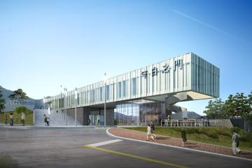 서울시 근현대사 기념관 (현상설계 당선안)