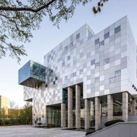 새로운 개념의 도서관, 호서대 장영실관 도서관, 교육시설, 금속패널, 로이복층유리