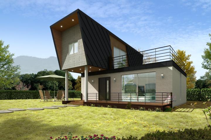 친환경 모듈러주택(20평형대)