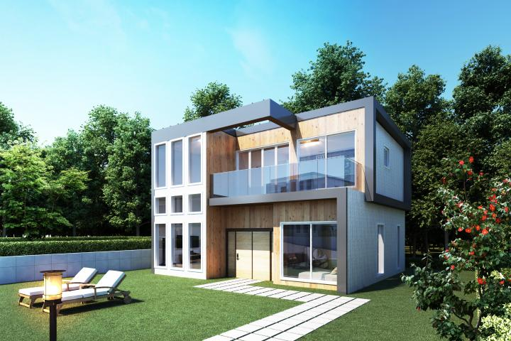 친환경 모듈러주택(30평형대)