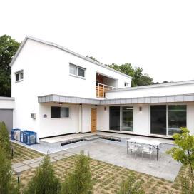 가족의 취향이 더해져 애착이 가는 파주 하얀집 패시브하우드, 이중단열, 모던주택, 단독주택, 경량철골주택, 목조주택, 단독주택내진,