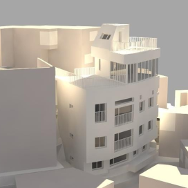 Flying Fairy _ Mixed Use (Office+Residential) 설계 다가구주택, 스튜디오, 이태원주택,