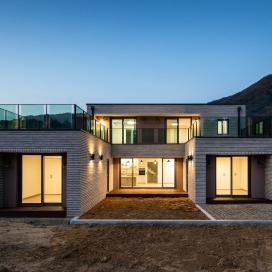 3개의 매스가 조화로운 양평 단독주택 단독주택, 모던주택, 벽돌주택, 양평주택