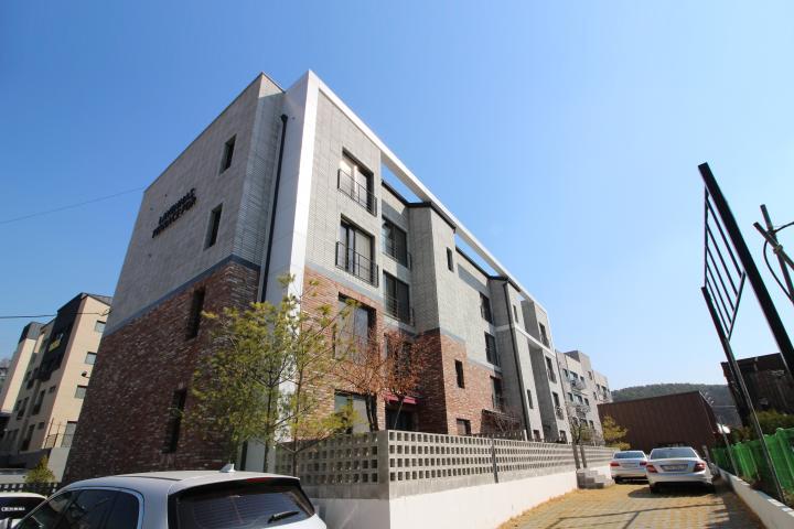 국내최초 특허등록 테라스 하우스 (전세대 마당, 전세대 복층구조)