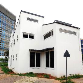 다양한 구조의 결합체, 다세대 하이브리드주택 다세대주택, 파주주택, 경량목구조, 주택, 모던주택