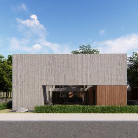 중정을 품은 일산 단독주택 (Ilsan Courtyard House) 단독주택, 전원주택, 일산주택, 모던주택
