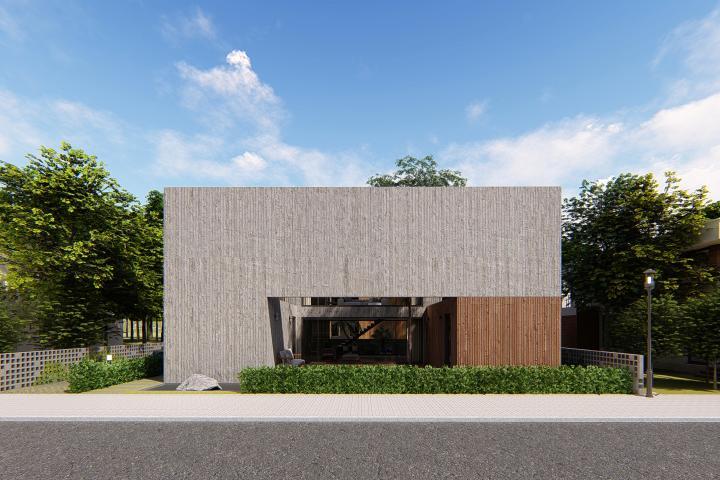 중정을 품은 일산 단독주택 (Ilsan Courtyard House)