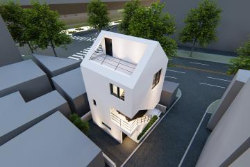 종암동의 랜드마크 협소주택 (Small House in Jongamdong)