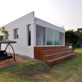남한강의 경치가 멋진 주택