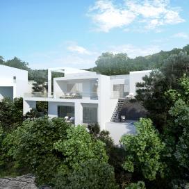 바닷가 위의 풀빌라 리조트(Woojuland Accommodations) 풀빌라, 리조트, 럭셔리, 모던, 숙박시설