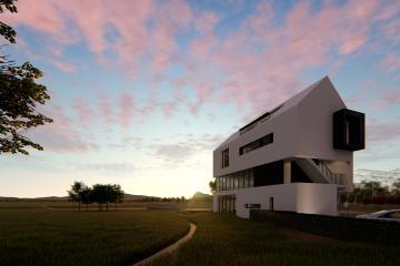 다양한 공간 변화로 풍경을 즐길 수 있는 안성 상가주택