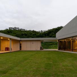 풍경화가 있는 집 건축조망, 단독주택, 단독주택신축, 마당넓은집, 풍경화, 방갈리주택, 노출콘크리트